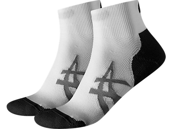 2PPK CUSHIONING SOCKS Real White/Atomic Blue 3 FT