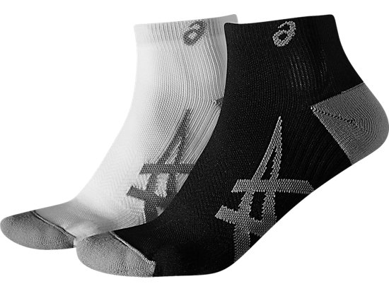 2PPK LIGHTWEIGHT SOCK, REAL WHITE