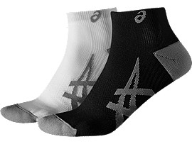 Front Top view of 2er-PACK LEICHTE SOCKEN, REAL WHITE