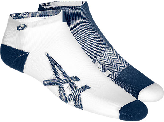 2PPK LIGHTWEIGHT SOCK, Dark Blue/ White