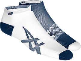 2er-PACK LEICHTE SOCKEN, DARK BLUE/ WHITE