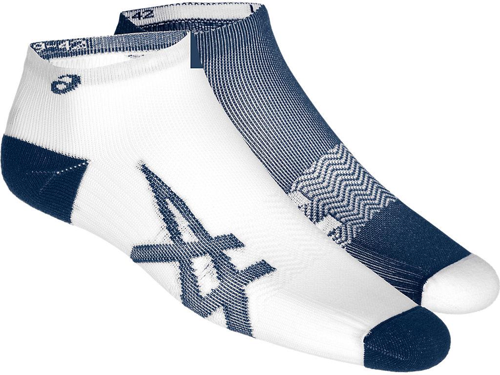 a3f307e9b1 2PPK LIGHTWEIGHT SOCK | Unisex | DARK BLUE/ WHITE | Socks | ASICS
