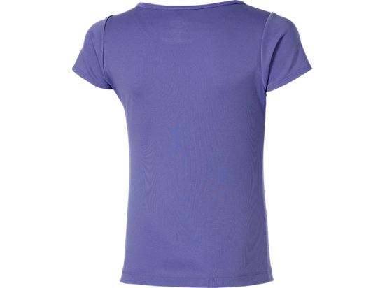 GIRLS SHORT SLEEVE LOVE TOP DAHLIA PURPLE 7