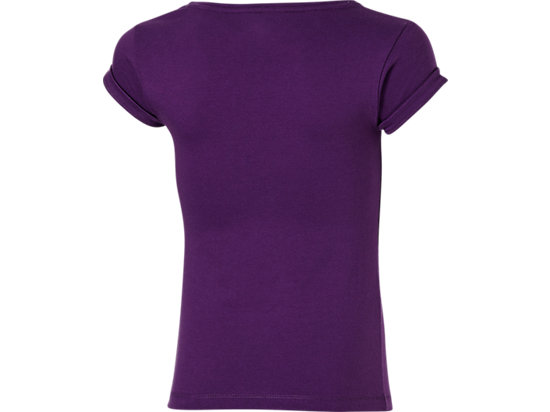 GIRLS SHORT SLEEVE TOP PURPLE 7