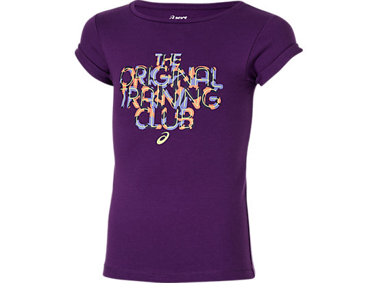 GIRLS SHORT SLEEVE TOP PURPLE 3