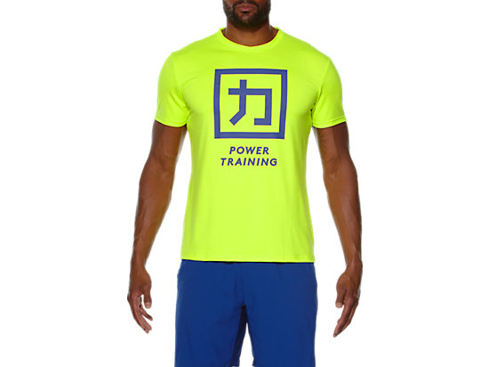 POWER TRAINING TOP Neon Lime 3