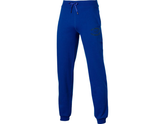 GRAPHIC CUFFED TRACKSUIT BOTTOMS Air Force Blue 3