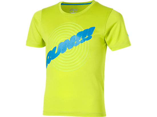SHORT SLEEVE GRAPHIC TOP Neon Lime 3