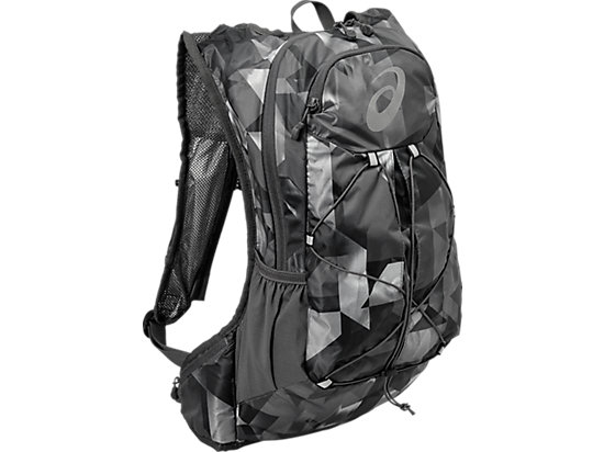 LIGHTWEIGHT RUNNING BACKPACK, Paint Geo Dark Grey