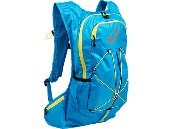 LIGHTWEIGHT RUNNING BACKPACK DIVA BLUE/BLAZING YELLOW 3