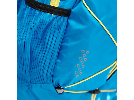 LIGHTWEIGHT RUNNING BACKPACK DIVA BLUE/BLAZING YELLOW 7