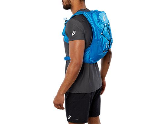 Lightweight 10L running backpack, RACE BLUE