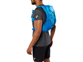 LIGHT WEIGHT RUNNING BACKPACK, RACE BLUE