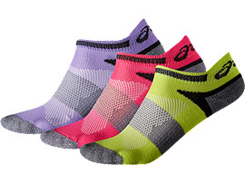 3PPK LYTE YOUTH SOCK, DAHLIA PURPLE ASSORTED