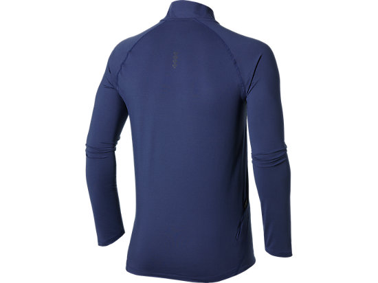 LONG SLEEVE 1/2 ZIP JERSEY DEEP COBALT 7