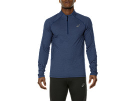 LONG SLEEVE HALF ZIP JERSEY
