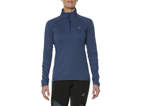 LONG SLEEVE HALF ZIP JERSEY, Poseidon