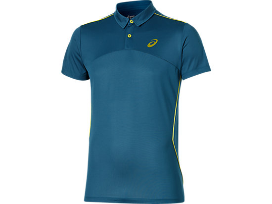 PADEL PLAYERS POLO INK BLUE 3