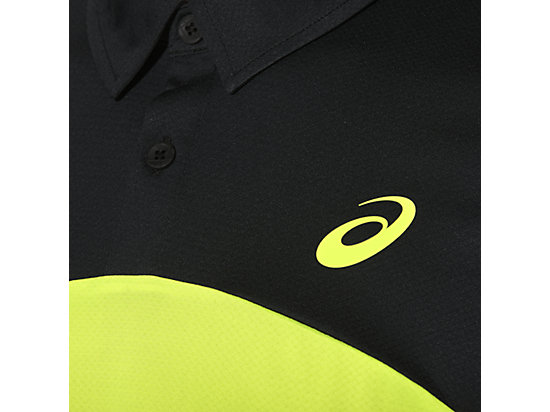 PADEL PLAYERS POLO SAFETY YELLOW 15