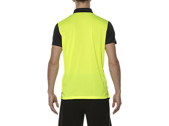 PADEL-POLOSHIRT SAFETY YELLOW 11
