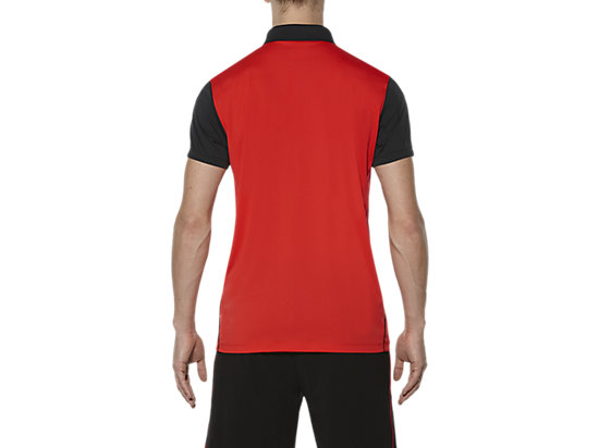 PADEL-POLOSHIRT FIERY RED 11
