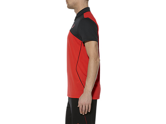 PADEL-POLOSHIRT FIERY RED 7