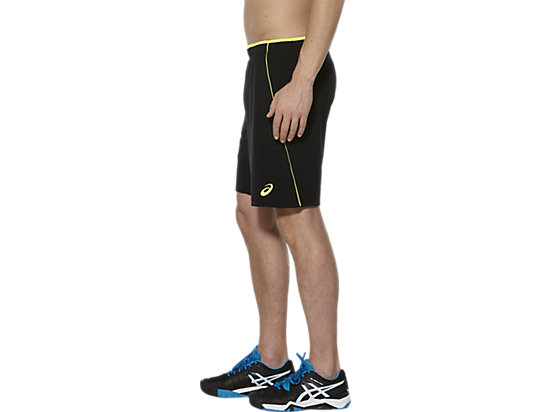PADEL PLAYERS SHORT PERFORMANCE BLACK/ SAFETY YELLOW 7 LT