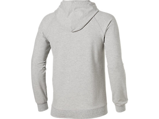 PADEL BEDRUKTE HOODY HEATHER GREY 15