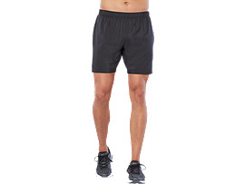SPORT 2 IN 1 WOVEN SHORT, PERFORMANCE BLACK
