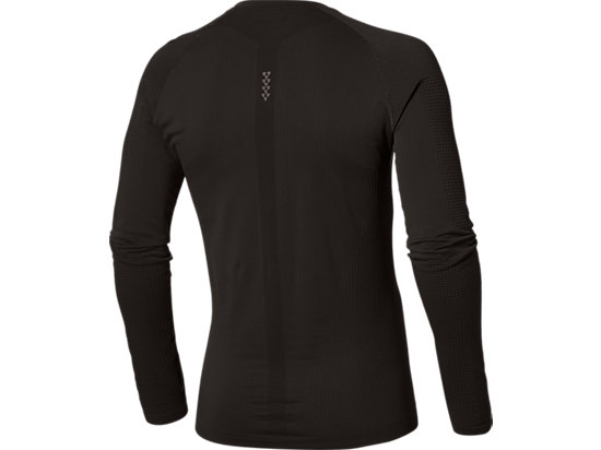 LONG-SLEEVED SEAMLESS TOP PERFORMANCE BLACK 15