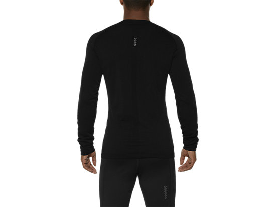 LONG-SLEEVED SEAMLESS TOP PERFORMANCE BLACK 19