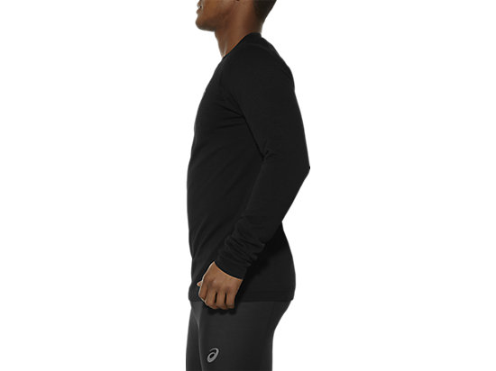 LONG-SLEEVED SEAMLESS TOP PERFORMANCE BLACK 11
