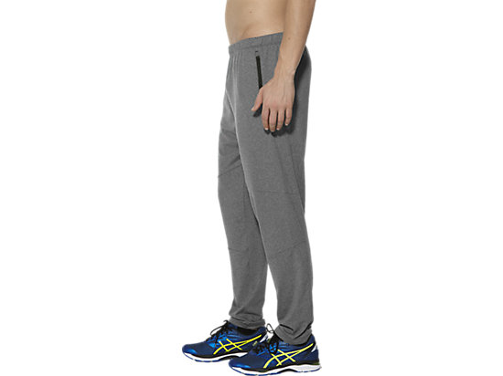 THERMOPOLIS RUNNING PANT PERFORMANCE BLACK HEATHER 7