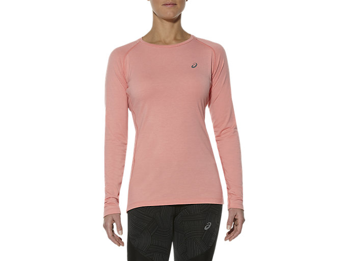 Front Top view of ELITE BASELAYER, PEACH MELBA