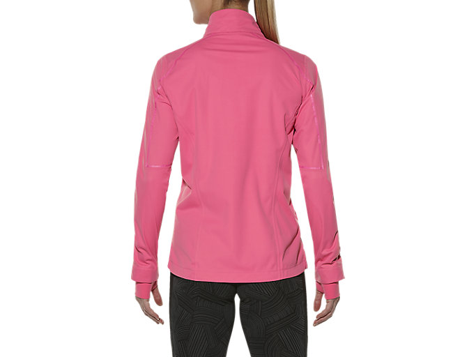 Back view of ACCELERATE JACKET, CAMELION ROSE