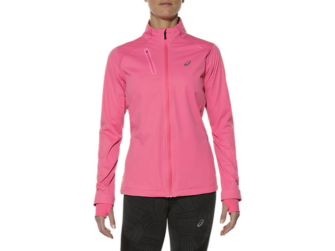 Front Top view of ACCELERATE JACKET, CAMELION ROSE