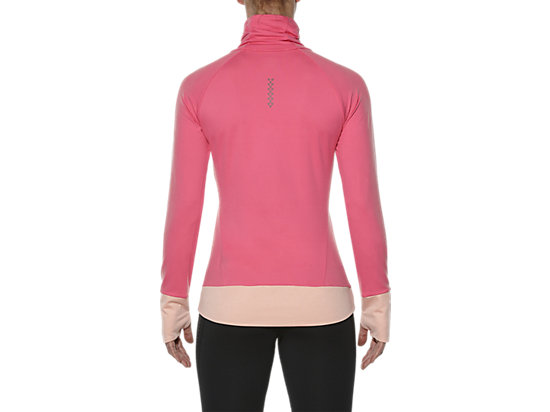 THERMOPOLIS HALF-ZIP LONG SLEEVED TOP CAMELION ROSE 11 BK