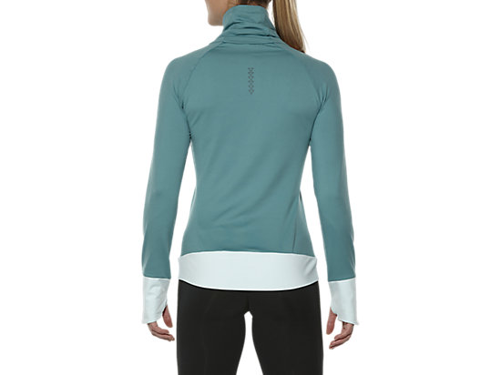 THERMOPOLIS HALF-ZIP LONG SLEEVED TOP KINGFISHER 11