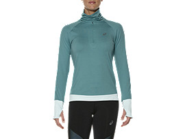 THERMOPOLIS HALF-ZIP LONG SLEEVED TOP