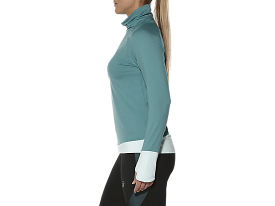 THERMOPOLIS HALF-ZIP LONG SLEEVED TOP KINGFISHER 7