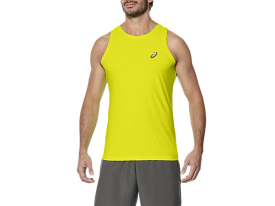 SINGLET, SAFETY YELLOW