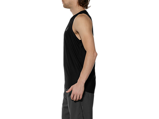 RUNNING SINGLET PERFORMANCE BLACK 7