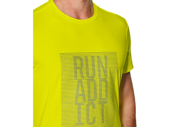 GRAPHIC SS TOP SAFETY YELLOW 23