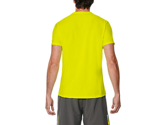 GRAPHIC SS TOP SAFETY YELLOW 19 BK