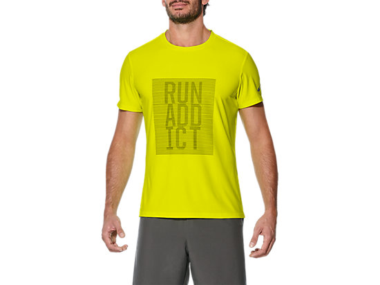GRAPHIC SS TOP SAFETY YELLOW 7 FT