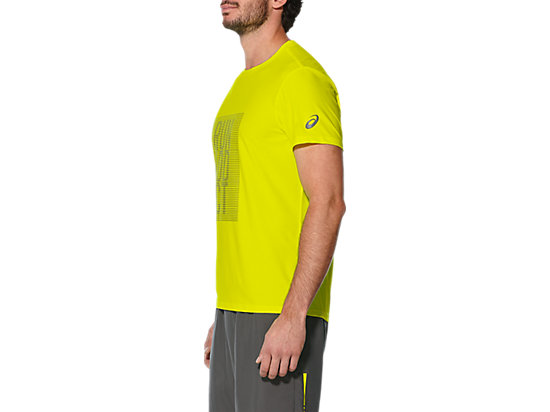 GRAPHIC SS TOP SAFETY YELLOW 11 LT