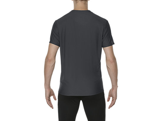 GRAPHIC SHORT-SLEEVED TOP DARK GREY 11