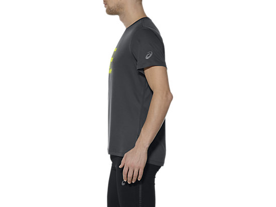 GRAPHIC SHORT-SLEEVED TOP DARK GREY 11 LT