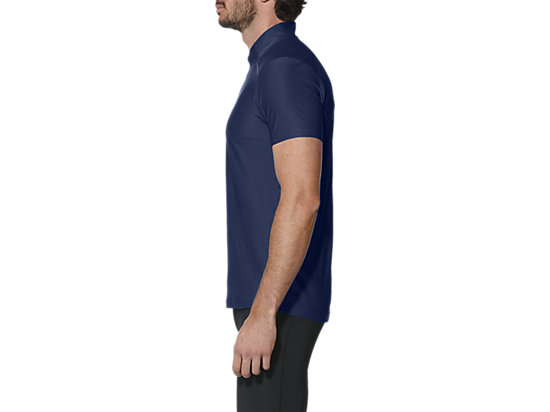 SHORT-SLEEVED HALF-ZIP TOP INDIGO BLUE 7
