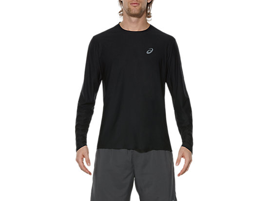 LONG-SLEEVED TOP PERFORMANCE BLACK 3